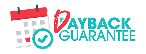 Dayback Guarantee logo