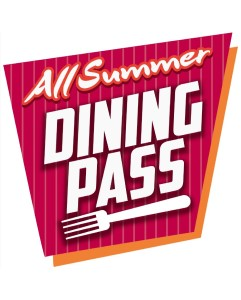 All Summer Dining Pass Logo on white background