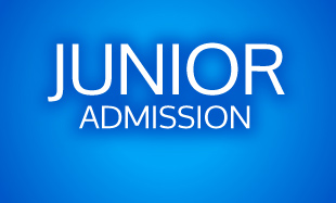 Junior Admission with Blue Background