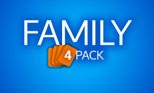 Family Four Pack text