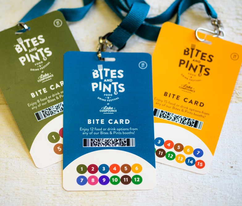 Photo of bite cards