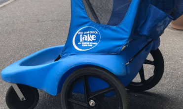 blue lake compounce  stroller